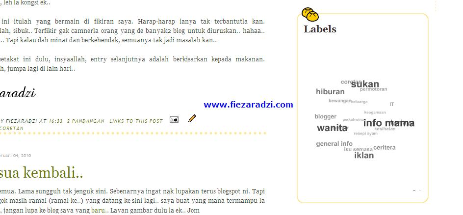 Tag Awan Untuk Blogspot
