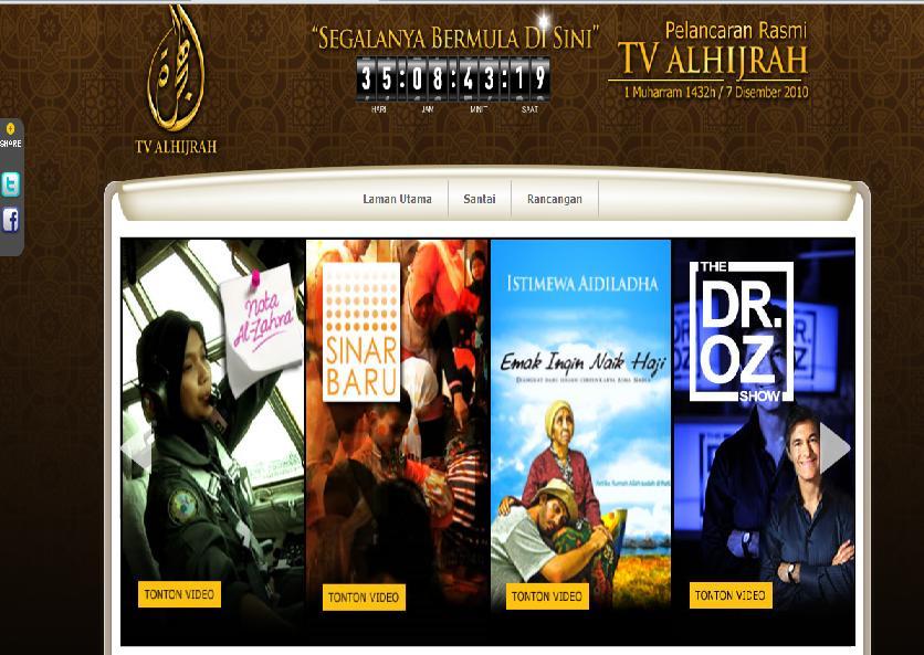 TV AlHijrah Mula Bersiaran