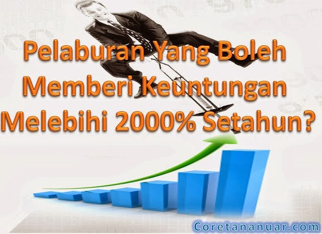 Pulangan Pelaburan Melebih 2000% Setahun